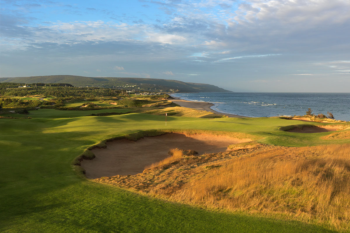 9th Hole, Cabot Cliffs